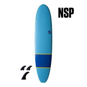 """NSP 06 Elements Longboard HDT 8'0"""" Navy"""